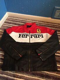 Ferrari biker jackets