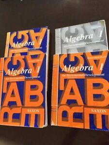 Saxon Algebra 1 Set