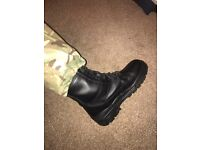 Military boots/ trousers