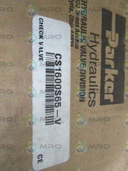 PARKER CHECK VALVE CS1600S65-V *NEW IN BOX*