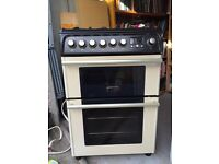 Gas cooker double oven - excellent condition