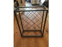 Wine bottle rack - immaculate condition - holds 32 bottles - sell as pair or individually