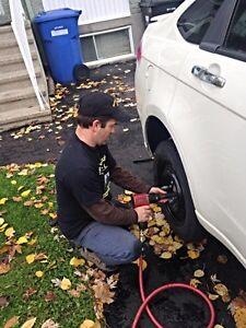 Changement pneus a domicile * Home tire changes  West Island Greater Montréal image 8
