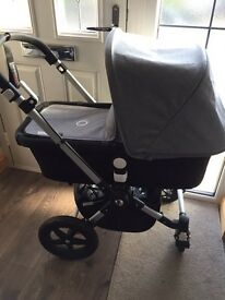 Bugaboo cameleon 3 black and BN grey melange only used for 9 months