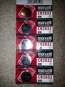 3V Lithium Button Cell Maxell Japan CR2032