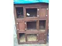 3 tier rabbit hutch for sale