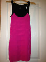 Zara Hot Pink Dress Size S
