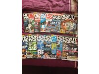 """How it works"" magazines x 14"