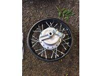 10 inch rear pitbike wheel (new)