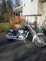 Custom 2002 Shadow Spirit- Stretched & Raked.  Motivated to sell