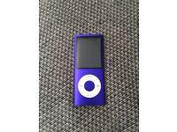 iPod Nano 8GB 4th Generation, mint condition. £50 ono