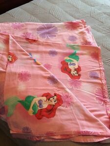 Little mermaid twin sheet set