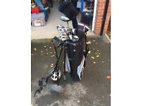 Dunlop 65 Golf club set and Trolley