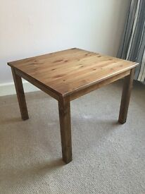 Oak stained Nornäs IKEA tables x2