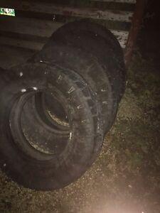 Truck tires 275/125/r18 duratrac wranglers