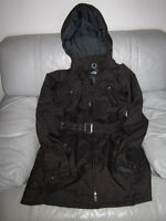 AUTHENTIC WOMANS NORTH FACE HYVENT HOODED COAT JACKET LARGE