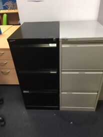 2 x Bisley 3 draw filing cabinets on clearance @ just £30 each only!!