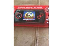 arcade gamer portable sonic