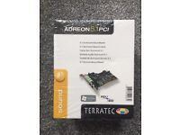 Two Aurion 5.1 sound cards sealed