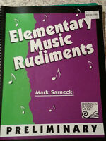 Music theory book for sale