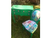 Beautiful bright and funky desk/console table/Dressing table for sale.