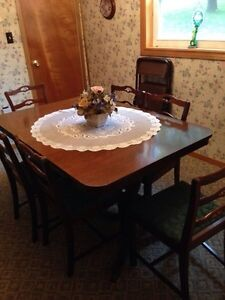 Dining room pieces