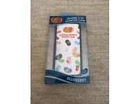 New Jelly Belly Blue Blueberry Scented Case for Apple iPhone 5C Mobile Smart Phone holder rubber