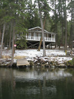 Vacation Cabin for Sale - with gov't lease