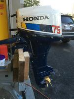 Honda 4 stroke outboard motor