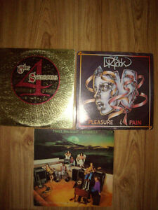 3 old Records for sale