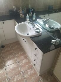 Bathroom Units and Sink