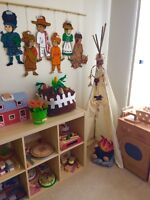 Organic/French Home Daycare - Classroom Set-up!