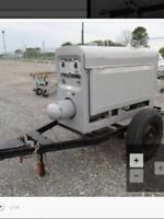 Lincoln diesel welder on trailer sa-200f-163