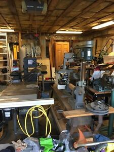 Huge Woodworking Tool Package