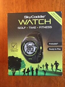 SkyCaddie GPS Fitness and Golf Course Watch