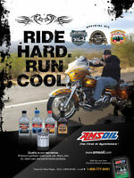 Amsoil Synthetic Oil & Filters for all Motorcycles