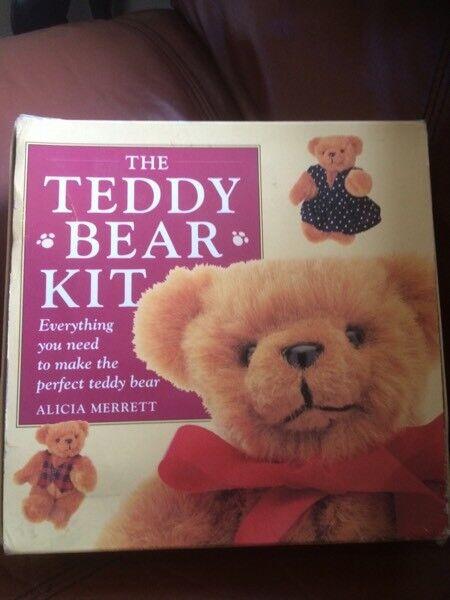Teddy bear making kit