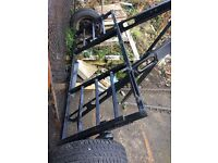 Towing A frame dolly/trailer