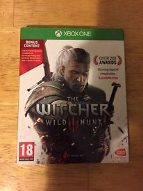 Witcher 3 Xbox one wild hunt
