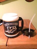 Blue Bombers Large Cup