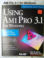 book: Ami Pro 3.1 for Windows, QUE, 1994 word processing