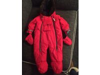 Ted Baker Red Snow Suit