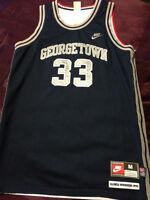 NIKE Georgetown Alonzo Mourning Olympic Basketball Jersey Medium