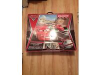 Disney Cars Lightening McQueen race tracks