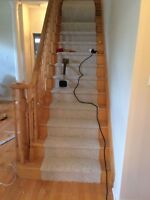 Cap stairs and box stairs installation (Mississauga/Peel region)