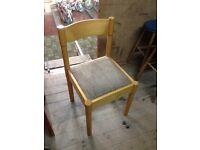 Vintage Chair - vicar chair