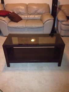 Coffee table or End table with the tinted glass top