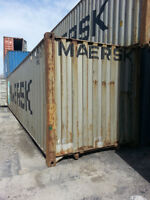 40' Used shipping container Special price