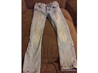 Boys age 6 skinny jeans