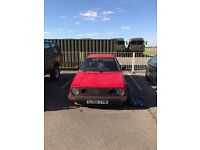 VW Golf MK2 1.6 GTD (upgraded turbo fitted)